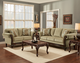 Ashanti Platinum living room suite